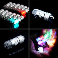linternas de papel de colores al por mayor-Intermitente LED GLOBO Luz para Papel Linterna Floral Mini luz de la noche Luz de Colores para Celebración de la Fiesta de Navidad
