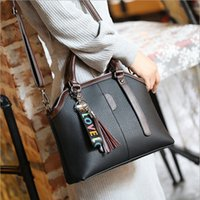 New Trend Women tassel handbags PU Shoulder Bags Sacolas Lady designer com bolsos multi internos