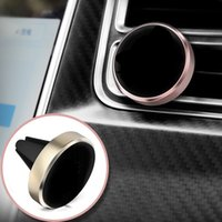 Wholesale air phone mobile - Universal Air Vent Magnetic Mobile Phone Holder For iPhone 7 6 Samsung S8 Magnetic Car Holder