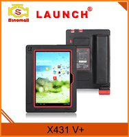 Wholesale Car Code Reader Online Free - 100% Original launch X431V+ Scanner support Wifi Bluetooth Free Update Online X431 Vplus Car Diagnostic Tools