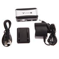 adaptador de corrente ca do cabo de alimentação venda por atacado-7 Portas USB 2.0 Hub Hubs de Alta Velocidade com Plugue DA UE AC Power Adapter Cable para PC Laptop Barato Hubs USB