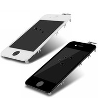 Wholesale Wholesale 4s - For iPhone 4 4G 4S A+++ LCD Assembly replacement Touch screen digital touch screen no dead pixels digital CDMA GSM White Black Free shipping