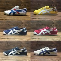 Wholesale Tiger Canvas Art - New Colors Asics Tiger Running Shoes Mens And Womens Comfortable Canvas Shoes Athletic Outdoor Sport Sneakers Eur 36-44 Free shipping