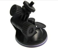 Wholesale Windscreen Cup Holder - Suction Cup Mount Flexible Tripod Holder Car Windshield Windscreen Suction Cup Mount Holder for GoPro Hero2 3