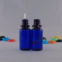 Wholesale Cheap Plastic Caps - PET Bottles 10ml 30ml Plastic Bottles Tamper Proof Cap Clear Blue Needle Bottles For E Liquids Cheap Price Free Shipping