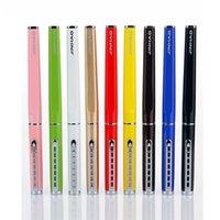 tinta da pena de fonte livre venda por atacado-Jinhao 699 Colorido 0.38mm Extra Fino Nib Fountain Pen com Prata Escada Clipe Frete Grátis Canetas De Tinta