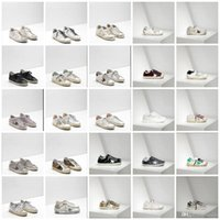 Wholesale Champagne Colour Shoes - Golden Goose Ggdb Leather Fashion Villous Dermis Casual Shoes For Men And Women New 30 Colour Italy Luxury Superstar Handmade Do The Old