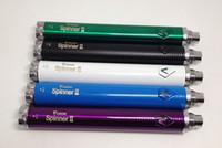 Wholesale vision mt3 online - Vision Spinner Battery Adjustable Voltage V Spinner II Thread for Mini Protank MT3 DHL free