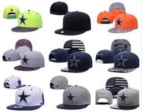 Wholesale Top Quality Snapback Hat - Album Offered 100% Top Quality 2017 Newest Cowboys Dallas Snapback Cap Adjustable Baseball Caps hip hop Summer bone hats Snap back sport Hat