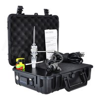 Wholesale Electric Vapors - Wholesale Pelican E Electric Dab Nail Quartz Nail Box Kit 14 18 MM Female Male Vapor Wax Dry Herb Electronic Temperature Controller Box Kit