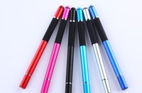 Wholesale Wholesale Touch Screen Pads - 2 in 1 Metal Capacitive Touch Screen Stylus Ballpoint Pen for Pad Tablet Phone
