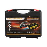 12v laptop auto ladegeräte großhandel-Auto Starter Mini Starthilfe 69800mAh Auto Jumper 12V Booster Power Ladegerät Telefon Laptop Power Bank