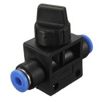 Wholesale Pneumatic Hose Connectors - Best Promotion Pneumatic Ball Valve Push In Fittings Connectors For 4-12mm Air Water Hose Tube Garden Tool Accessories