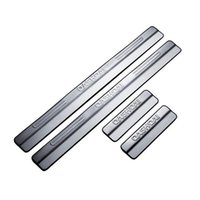 Wholesale Nissan Door Sill Plate - Door Sill For 2007-2013 2014 2015 Nissan Qashqai Stainless Steel Scuff Plate Welcome Pedal Threshold Strip Car Styling Accessories 4pcs set