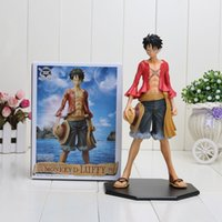 Wholesale Luffy Years After - Japan Anime Pvc One Piece 2 years after a huge Luffy ,Christmas gifts,Birthday gift approx 25cm with box