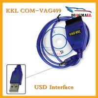 Wholesale Diagnostic Cars Vag - VAG 409 Cable OBD2 USB KKL VAG 409.1 VAG KKL USB 409 Car Diagnostic Interface For Audi And VW