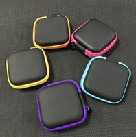 Wholesale Ego Carrying Case Colorful - MOQ=10pcs Colorful Ego Case Ego Leather New Zipper Case Bag Electronic Cigarette Carry Bag with 9 different colors top quality