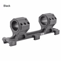 Tactical 25mm to 30mm Double Cantilever Heavy Duty Scope Mount fit 20mm Picatinny Rail (ht055)
