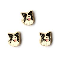 Wholesale Dog Floating Charms - dog charms5, floating charms for living locket, 20pcs lot, free shipping--98