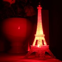 Wholesale Led Light Day Night - Large valentine's day Romantic colorful light The Eiffel Tower, a night light The Eiffel Tower led lights creative gift