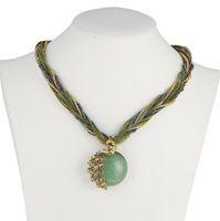 Wholesale Grade Acrylic Bead - Top Grade Statement Choker Necklace Hot Sale Fashion Bohemian Beads Bib Chokers Necklaces for Women Girl Jewelry Wholesale Free Ship 0347WH