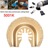 Wholesale 65mm Hard Alloy Saw Blade Semicircular Cutter