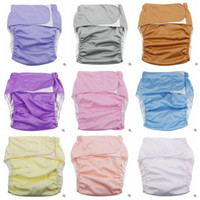 Wholesale Diaper Cover Cloth Pants - Cloth Diaper Adjustable Wash Diapers Adults Reusable Diaper Covers Elderly Waterproof Napkin Nappy Diaper Briefs Shorts Panties Pants B2813