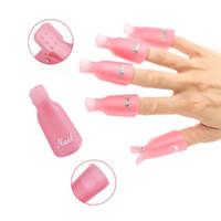 f3 plásticos venda por atacado-F3 D094 Prego Removedor de Manicure Gel Unhas Tampas Polonês Para Unha Cap Soaker Gel De Plástico Polonês Removedor Caps Clip