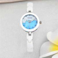 relojes de marca de moda temporales kezzi reloj color de rosa de oro y diamantes de