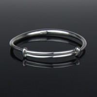 Wholesale Free Handmade Christmas Gifts - 999 Sterling Silver Bangle Bracelet One Size Adjustable Bangle for Women Metal Bracelets Handmade Silver Jewelry Free Shipping YSB003