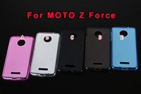 Wholesale Blackberry Z - Pudding Soft TPU Case For MOTO X4 Z Force Doogee X5 MAX Blackberry Passort Q30 Clear Matte Silicone Gel Rubber Plain skin Back Cover Luxury