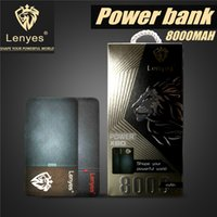 Wholesale Galaxy Power Bank - Original 8000 mAH Power Bank Powerbank For Iphone X 8 Plus Galaxy S8 Plus Note 8 External Battery