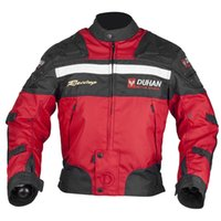 DUHAN Chaquetas de moto de la motocicleta Body Armour Moto de protección Chaqueta Motocross Off-Road Dirt Bike Riding Windproof Jaqueta Ropa