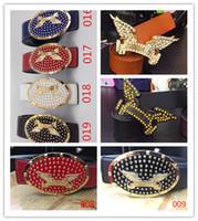 Wholesale European Loose Beads - 2017 Hot new robin jeans Leather belt belts Genuine Leather men womens wing Belts designer belts for gift robin belt 105-125cm 01