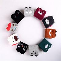 Wholesale Ship Children Socks - New fox design knee high baby socks girls leg warmers knee pad child socks 2-12years free shipping 2785