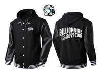 Wholesale Mans Brand Names Clothing - street wear brand name mens clothing coats black hoody fleece matching couple graphic pullover S-XXXL bbc billionaire boys club