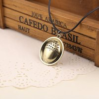 Wholesale Parrot Chain - Hobbit Bilbo Baggin acorn button necklace Necklace parrot Pendant 2016 new European and American popular jewelry alloy new