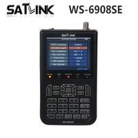 Wholesale Genuine Satlink WS SE satellite meter se Support KB LIGHT BACKLIGHT satellite finder ws se Satlink ws6908se order lt no trac