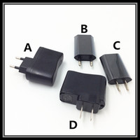 Wholesale Electronic Ac Adaptors - High Quality Mini USB Wall Adaptor Travel Wall Charger AC-DC Adaptor For Electronic Cigartte Mobile Phones eGo Style Ecig Battery DHL Free