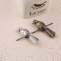 Wholesale pin finger - Game of Thrones Little Finger Petyr Baelish Bird Brooch Silver Bronze Brooch Pins Fashion Jewelry Drop Shipping