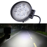 Wholesale round off road lights - 27W LED Work Light 60 Degree High Power LED Offroad Light Round Off road LED Work Light Flood Light for Boating Hunting