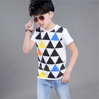 Wholesale Teenage Boy Clothing Styles - Fashion All-Match Kids Boys Girls T-shirts Children Bobo Choses Tops T shirts Girls Clothing Teenage Clothes 2016 New Style
