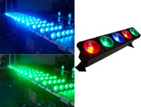 4pcs / lot, la luce della matrice di 5x30W RGB LED illumina la fase dello DJ show 100% dimmer flash dmx illuminazione club di discoteca