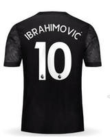 Wholesale Shirt S - Customized Thai Quality 17-18 new 10 IBRAHIMOVIC Soccer Jerseys Shirt Tops, 9 LUKAKU,6 POGBA,19 RASHFORD,11 MARTIAL Soccer Jersey Tops Shirt
