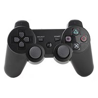 Wholesale Color Box Game - PlayStation 3 Game Controller For Android Video Games PS3 Wireless Bluetooth Game Controller 11 color with retail box 20pcs DHL free