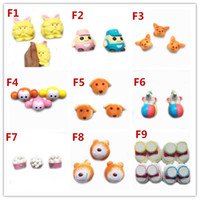Wholesale Wholesale Police Toys For Kids - 2017 Hot style Garfield Police dog Squishy Toy Slow Rising Soft Squeeze Cute Cell Phone Strap gift Stress for children Decompression toys