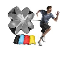Wholesale Wholesale Resistance Parachutes - Speed Training Resistance Parachute Power Outdoor Running Chute Exercise Tool