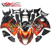 Wholesale black hayabusa fairing kit - Fairings For Suzuki GSXR1300 Hayabusa Year 08 09 10 11 12 13 14 15 2008-2015 ABS Motorcycle Full Fairing Kit Motorbike Orange Black Covers