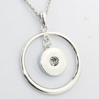 Wholesale cloisonne plates online - 2016 Newest Snap Button Jewelry Necklace Ne202 Fit mm mm Snaps Ginger snap buttons necklace