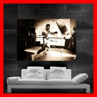 Wholesale Ali Posters - Muhammad Ali Poster print wall art 8 parts giant huge Poster print art NO569